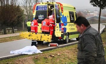 Un muerto y cuatro herido en una salida de vía de un turismo en el kilómetro 29 de la SA-325, en Bogajo (Salamanca).