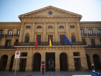 Las dependencias del Gobierno de Navarra estarán cerradas