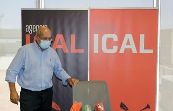 El vicepresidente de la Junta, Francisco Igea, durante su participación en 'Los desayunos de Ical'.