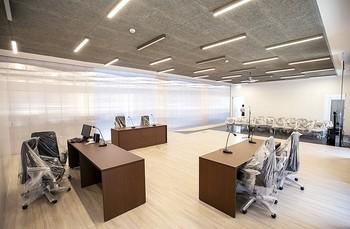 Imagen de archivo de una sala de vistas de la Audiencia Provincial.