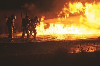 Alto índice de propagación de incendios forestales