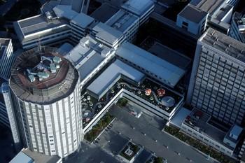 Vista general del hospital de La Paz, desde la Torre Espacio