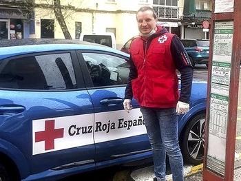 Un campeón del mundo, voluntario en Parla