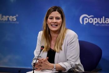 Carolina Agudo es la secretaria general del PP en la región.