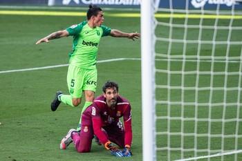 El Leganés manda virtualmente al Espanyol a Segunda
