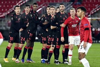 La Real Sociedad saca un meritorio punto de Alkmaar