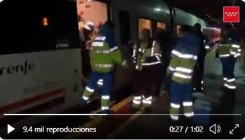 La circulación por tren Ávila-Madrid, interrumpida de nuevo