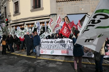 Los sindicatos no se olvidan del pacto de las 35 horas