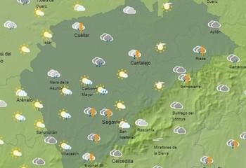 Segovia: récord de lluvias en 24 horas en septiembre