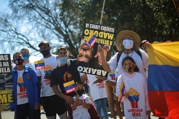 Guaidó llama a la rebeldía en Venezuela