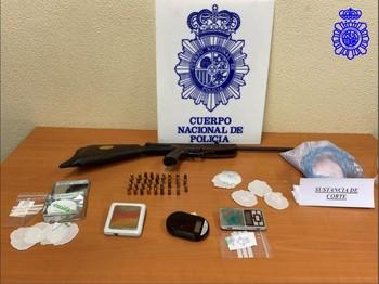 Desarticulado un punto de venta de droga en San Pablo