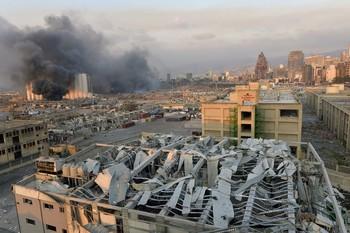 Una explosión en el centro de Beirut deja varios muertos