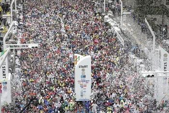 El coronavirus limita la participación enel maratón de Tokio
