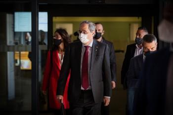 El Supremo confirma por unanimidad la inhabilitación de Torra