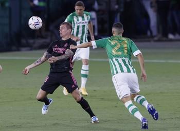 Kroos se perderá los partidos contra Valladolid y Levante