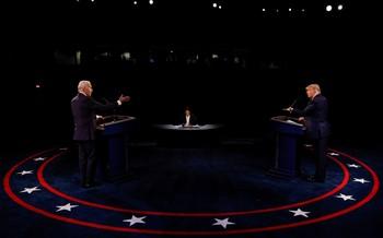Diferencias irreconciliables en el debate entre Trump y Bide