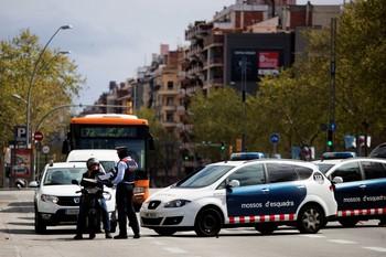 El virus se ceba en Cataluña