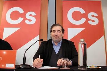 El presidente de la gestora de Ciudadanos, Manuel García Bofill.
