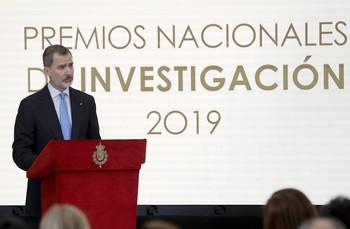El Rey pide aumentar los recursos para la ciencia española