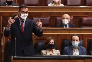 Sánchez propone a Casado revisar la alarma el 9 de marzo
