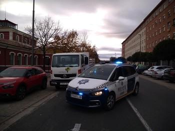 La Policía Local detiene a un varón por robar un camión
