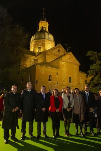 La Basílica del Prado presume de nueva iluminación artística