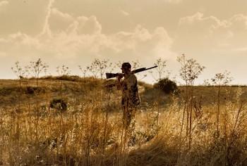 Un cazador en una imagen de archivo.