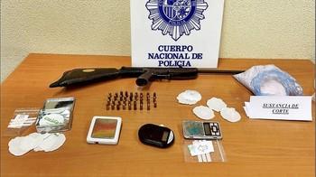 Desarticulado un piso de venta de droga en San Pablo