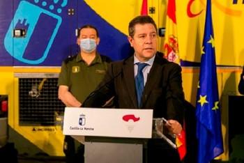 García-Page muestra apoyo al Gobierno