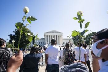 El Tribunal Supremo de EEUU despide a Ginsburg