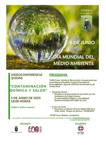 La Semana del Medio Ambiente se celebrará de forma virtual