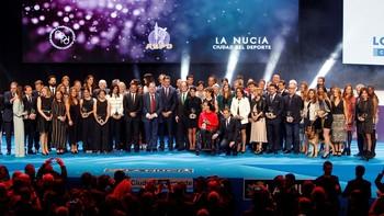 Imagen de la Gala Nacional del Deporte de 2019
