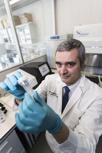 David Rodríguez Lázaro, microbiólogo y profesor de la UBU.