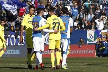 Diego Rico y Mario González se enfrentaron en diciembre de 2017 en un Leganés-Villarreal. Fue la última vez que dos burgaleses se vieron las caras en la máxima categoría.