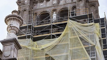 La restauración de la torre de la Catedral está ya terminada