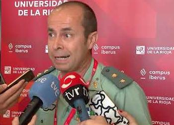 Jesús Gayoso, en un acto en la Universidad de La Rioja.