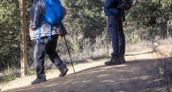 Auxiliada una senderista herida en una ruta por La Demanda