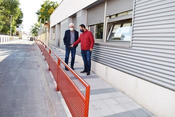 Un camino más seguro al colegio Calderón de la Barca