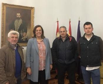 La Diputación mejorará la seguridad de un camino en Valbuena
