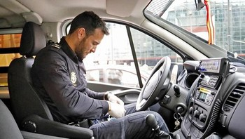 Craviotto vuelve a la Policía para ayudar contra el Covid-19