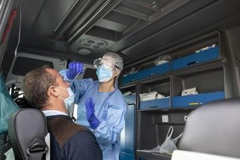 El Coliseum centralizará la toma rápida de muestras para PCR