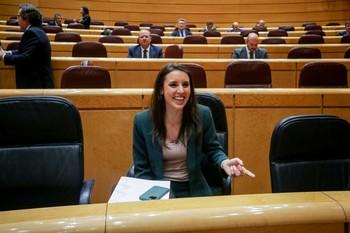 Irene Montero vuelve a dar positivo en la prueba del Covid-1