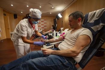 Las donaciones de sangre caen un 17% entre enero y abril