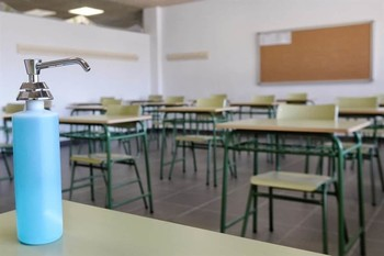 La Junta pone en cuarentena un aula en Valladolid
