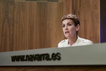 Navarra defiende el estado de alarma y pide su gestión