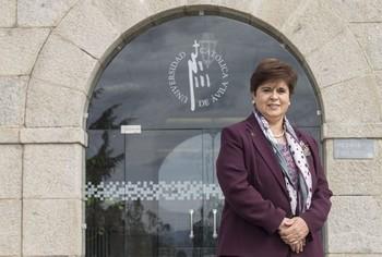 Ánimos de la rectora de la UCAV en el inicio de los exámenes