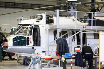Airbus Helicopters tiene ya sus talleres al 80% de actividad