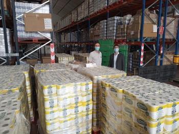 2.000 kilos de productos de Mercadona, al Banco de Alimentos