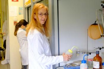 Fayna García, química de UR