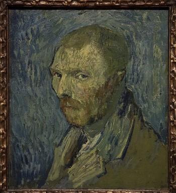 El 'selfie' de Van Gogh